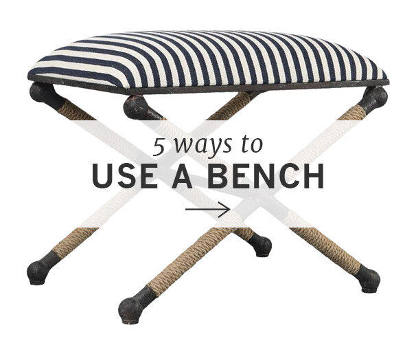 5 Ways to Use a Bench