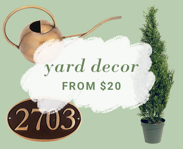 Yard Decor from $20