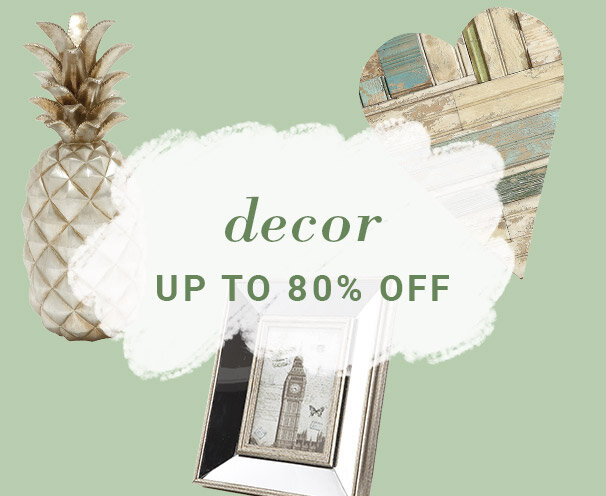 Decor Up to 80% Off
