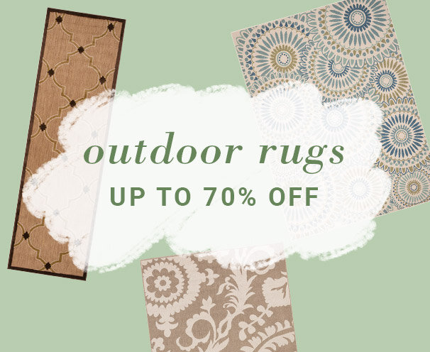 Outdoor Rugs Up to 70% Off