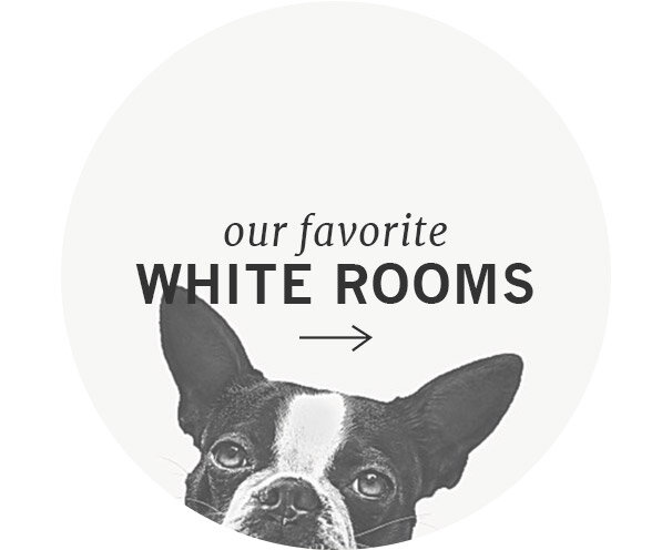 Our Top White Rooms