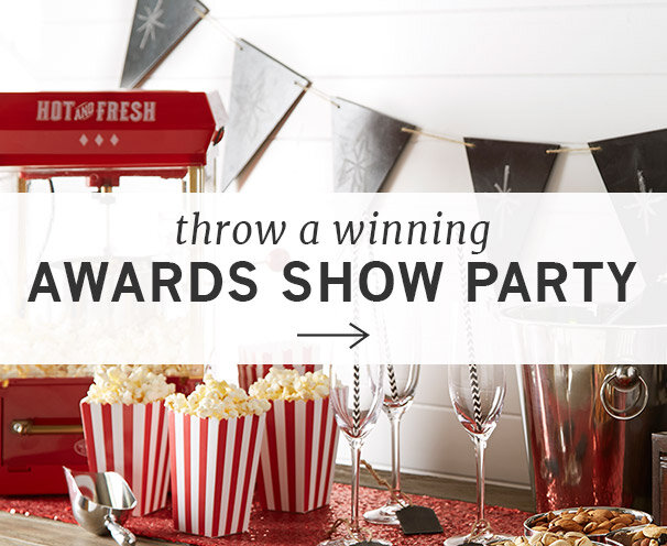 Host an Awards Show Party