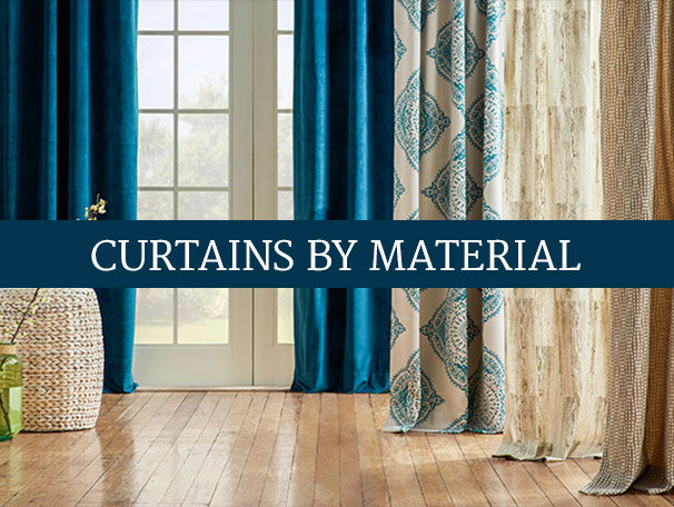 Curtains by Material